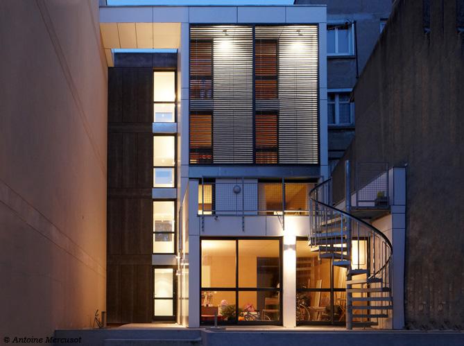 Visite guidée d\'une maison contemporaine et écolo - Elle Décoration