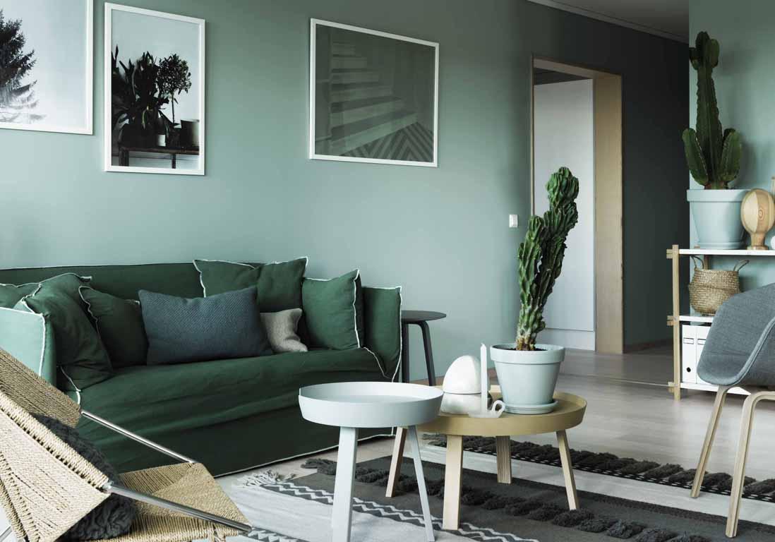 Mur Couleur Gris Beton mur coloré : nos inspirations pour un intérieur haut en