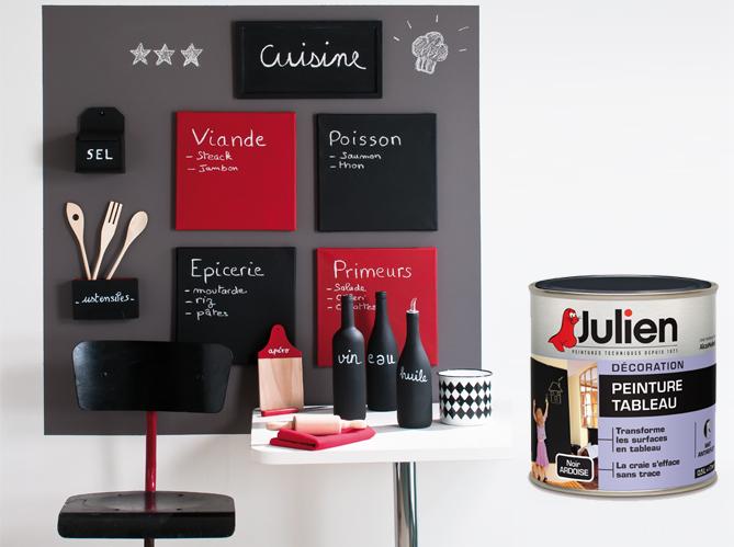 peinture tableau julien - Elle Décoration
