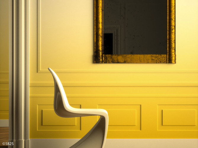 Tendance : peindre son mur en tie and dye - Elle Décoration