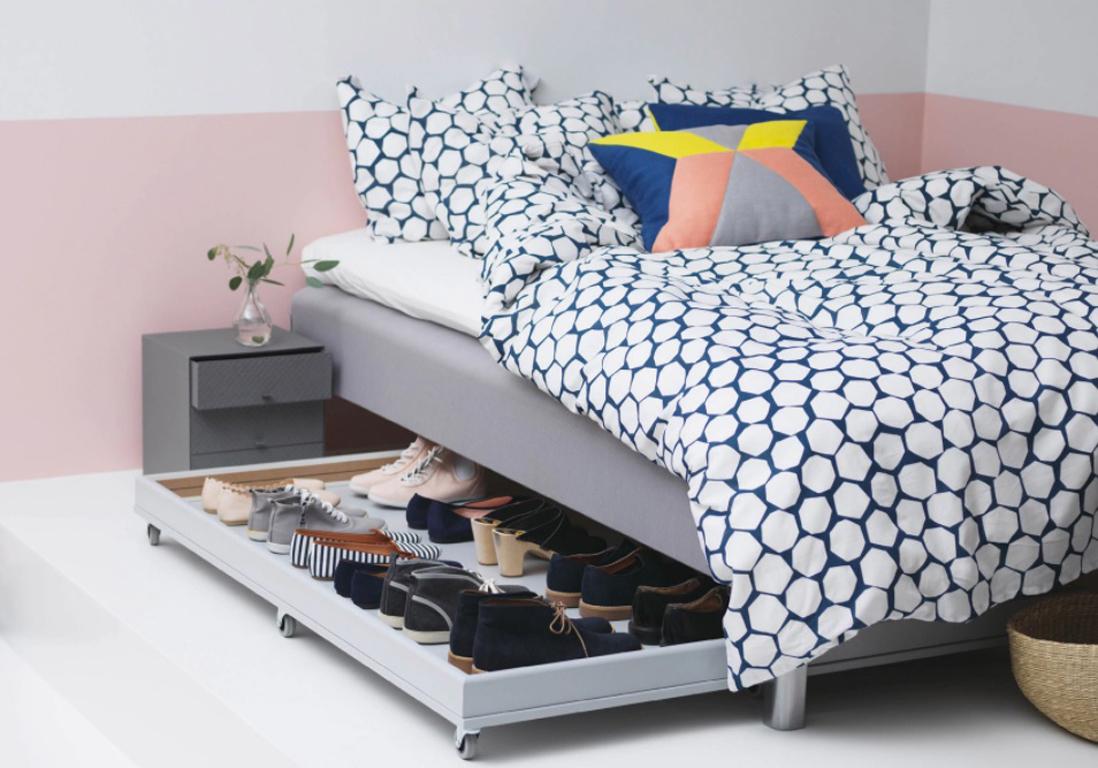 5 astuces pour optimiser lespace sous le lit elle dcoration - Rangement Sous Lit