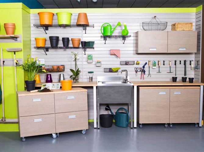 Nos Idées De Rangements Pour Le Garage Elle Décoration
