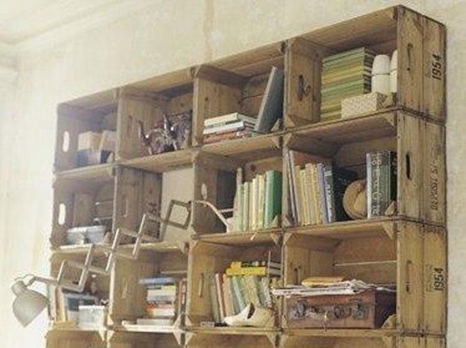 3 id es de biblioth ques fabriquer soi m me elle d coration. Black Bedroom Furniture Sets. Home Design Ideas
