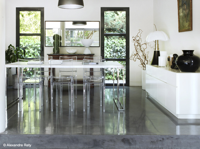 tendance et pratique tout ce qu 39 il faut savoir sur le b ton cir elle d coration. Black Bedroom Furniture Sets. Home Design Ideas