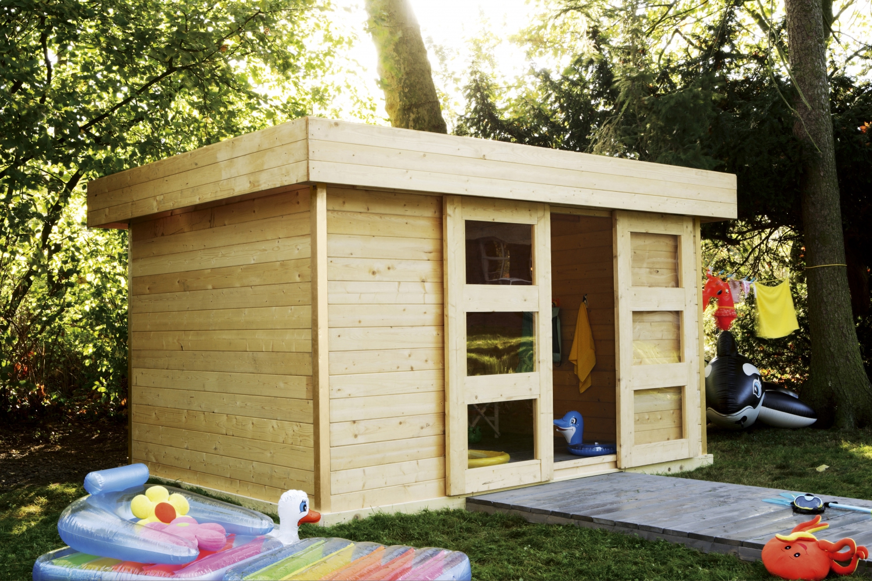 Construire Abris Bois construire son abri de jardin - elle décoration