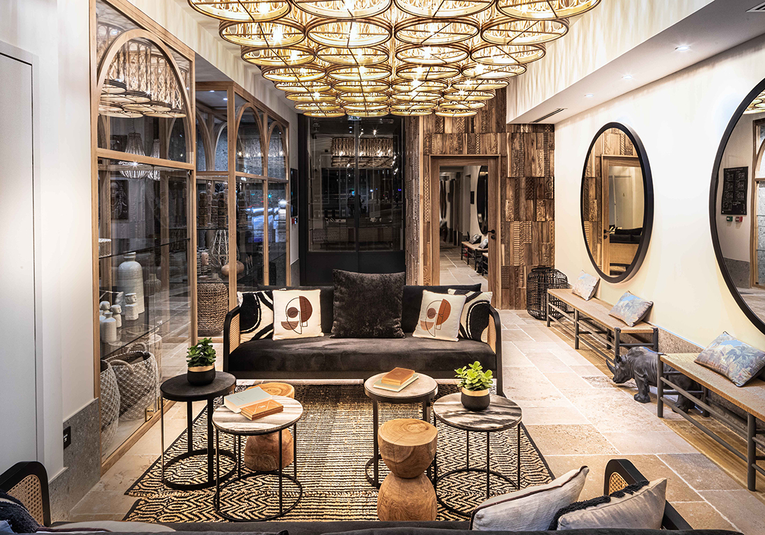 Discover the first photos of the new Maisons du Monde hotel in