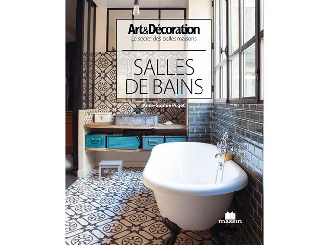 Livre Art&Décoration : \'Salle de bains\' - Elle Décoration