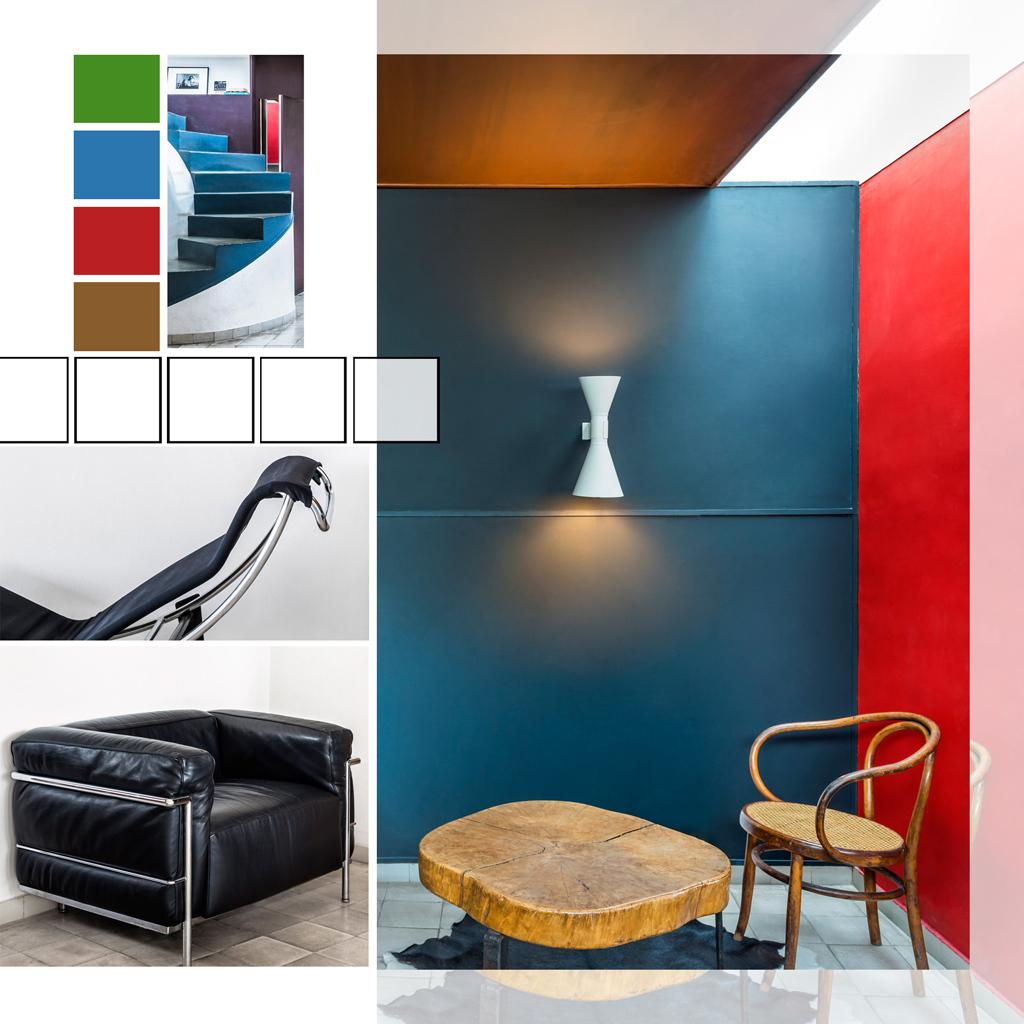 visite tr s priv e de l 39 appartement atelier parisien de le. Black Bedroom Furniture Sets. Home Design Ideas