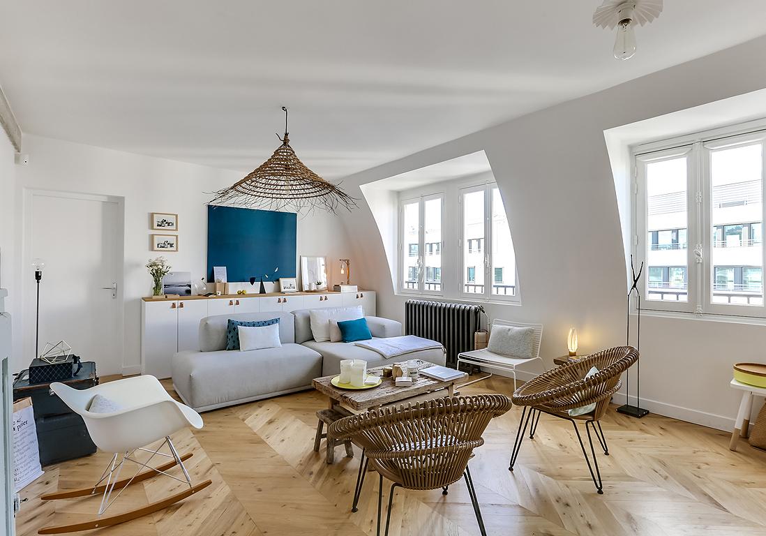 Avant Apres Des Chambres De Service Transformees En Duplex Avec Rooftop Elle Decoration