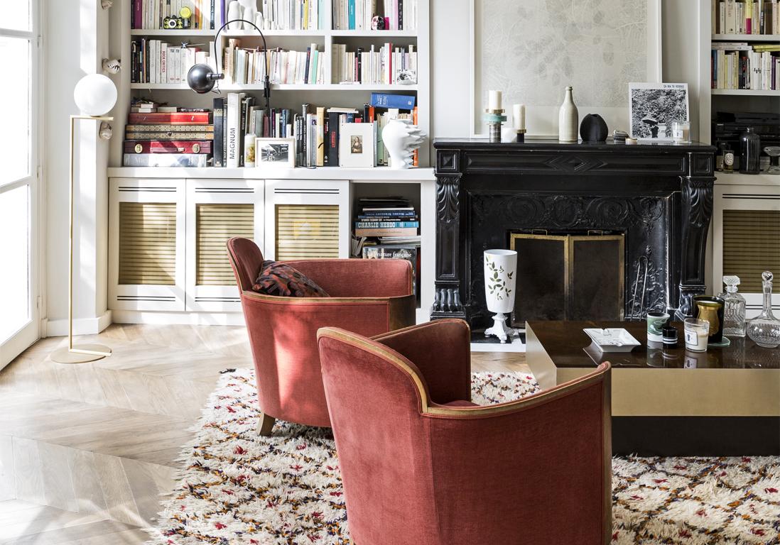 un appartement romantique entre ville et campagne elle. Black Bedroom Furniture Sets. Home Design Ideas