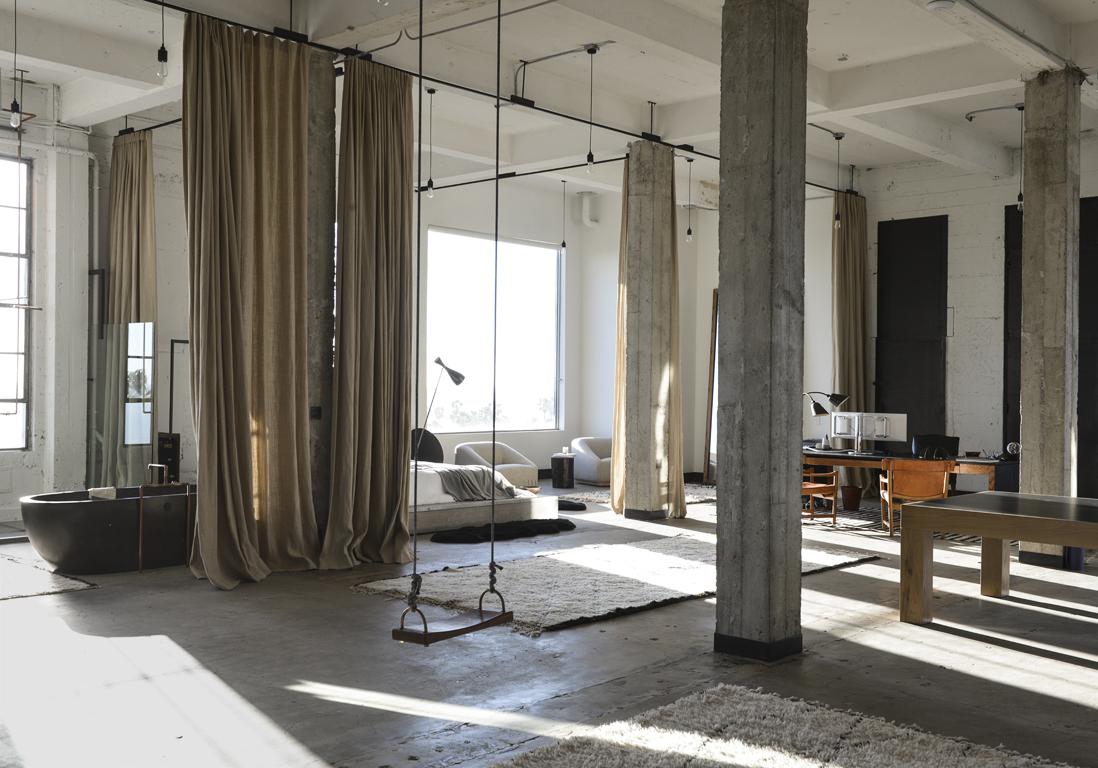 Neon De Decoration Interieur un loft californien de 420 m² sans aucune cloison ! - elle