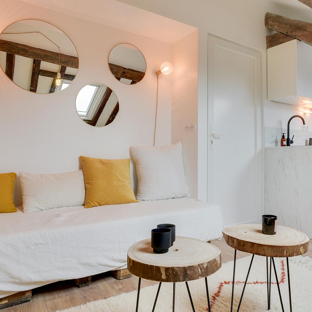 Comment aménager un studio de 18 m18 - Elle Décoration