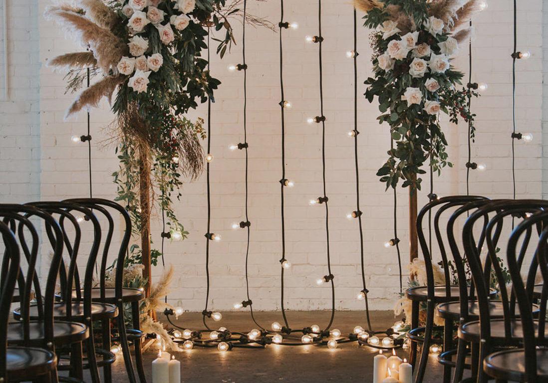 Faire Un Mur De Photos Décoration cérémonie de mariage : 20 idées déco inoubliables - elle