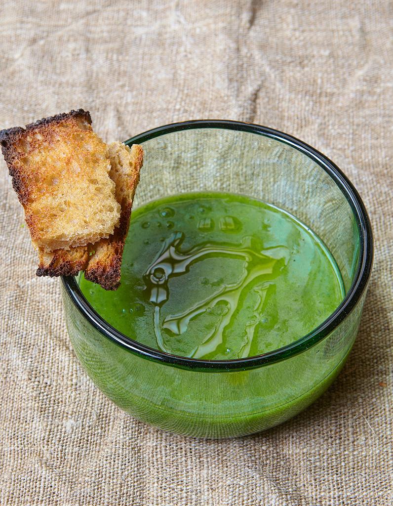 Soupe minceur au cresson - Des soupes légères pour garder