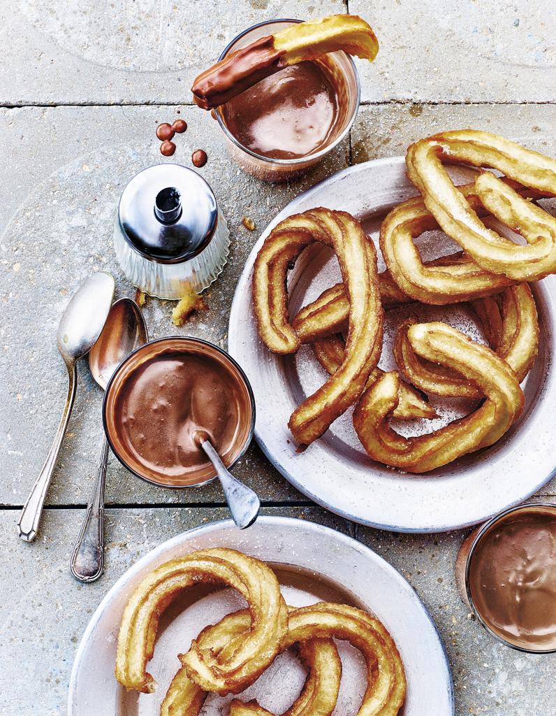 Recette Churros De Fete Foraine recettes de churros craquants et pas chers - elle à table