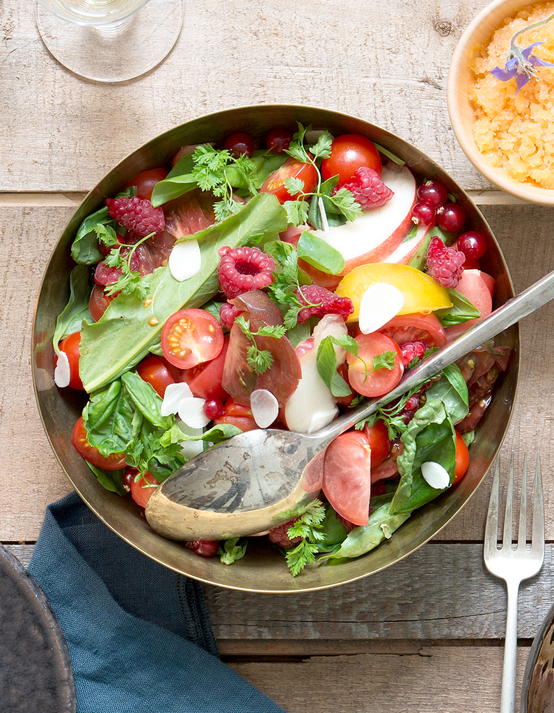 salades fut es recettes de cuisine salades fut es elle table. Black Bedroom Furniture Sets. Home Design Ideas