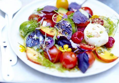 Menu healthy en 10 minutes chrono