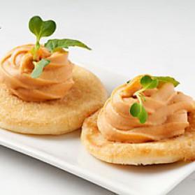 Canap mousse de saumon l orange pour 4 personnes for Canape saumon