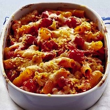 gratin de p 226 tes aux saucisses de francfort pour 4 personnes recettes 224 table