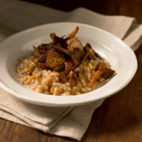 risotto aux champignons frais pour 4 personnes recettes elle table elle table. Black Bedroom Furniture Sets. Home Design Ideas