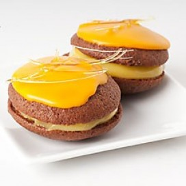 Whoopies cacao et citron