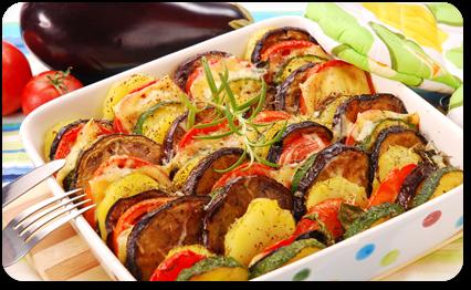 gratin de legumes a la provencale