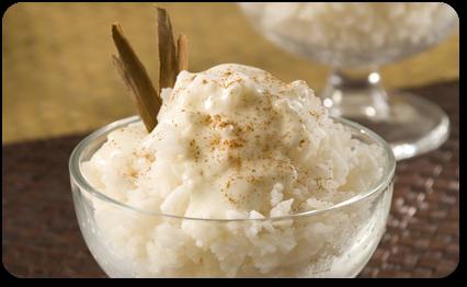 Riz au lait de coco recettes elle table elle table - Riz au lait de coco ...
