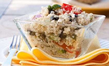 taboul l ger au quinoa pour 4 personnes recettes elle table. Black Bedroom Furniture Sets. Home Design Ideas