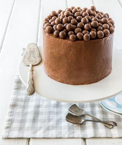 G teau aux billes chocolat es 15 id es de g teaux sublim s pour la f te des m res elle table - Gateau pour la fete des meres ...