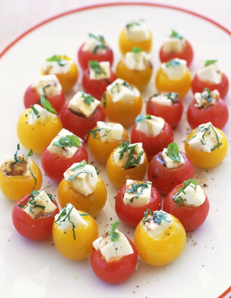 Tomates farcies champignons feta - 30 idées pour sublimer