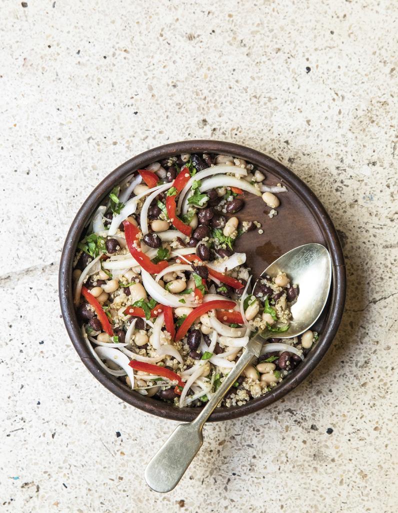 Ceviche aux haricots et quinoa - 80 idées de salades