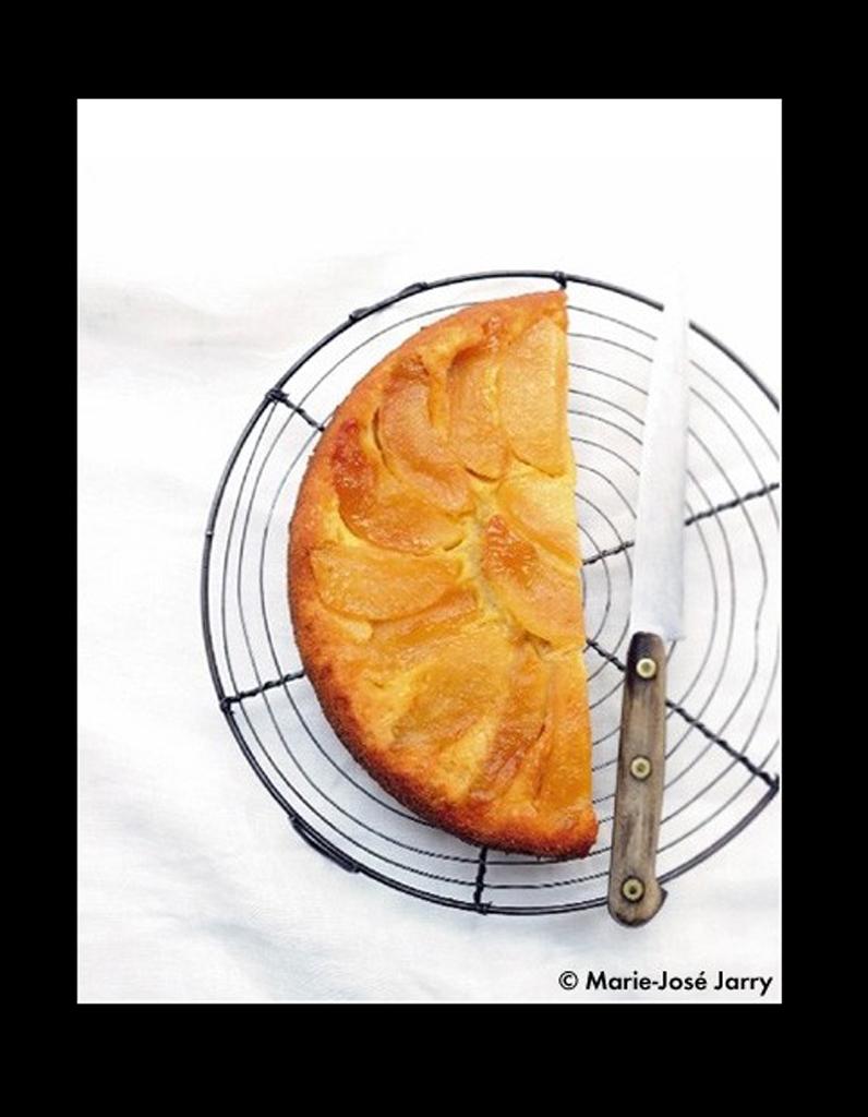 Gâteau renversé pommes ou poires - 50 recettes pour