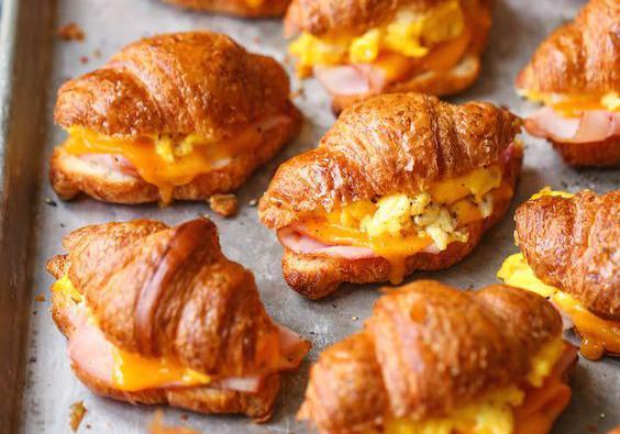 7 recettes de croissants salés à tomber