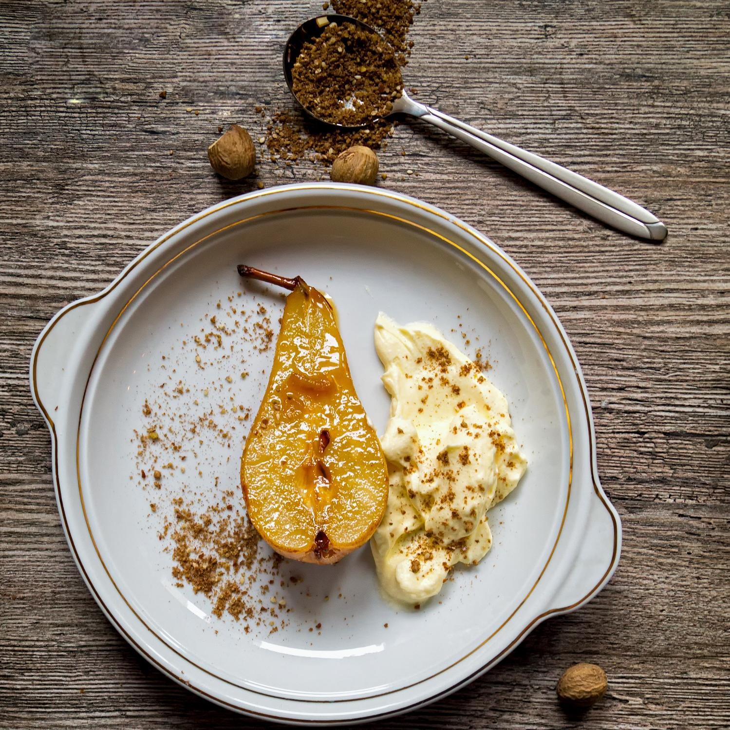 Idees De Desserts Aux Poires Elle A Table