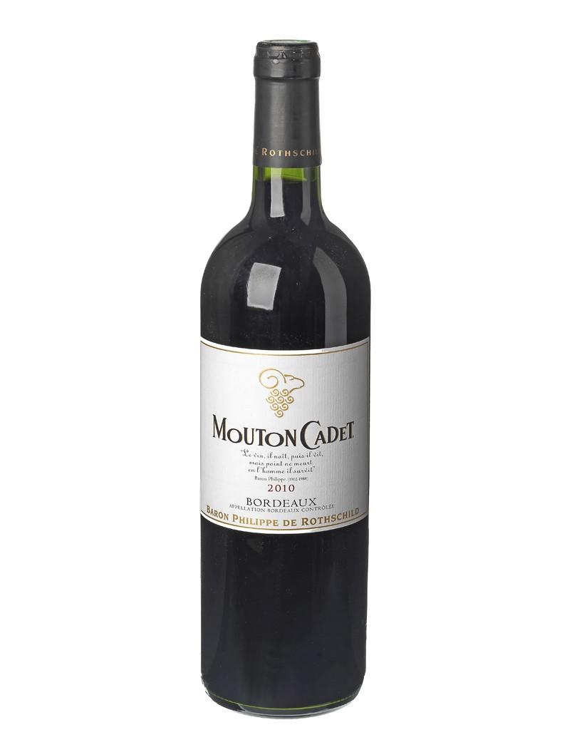 Bordeaux rouge mouton cadet 2010 d ner en ville quel for Quel vin rouge pour cuisiner