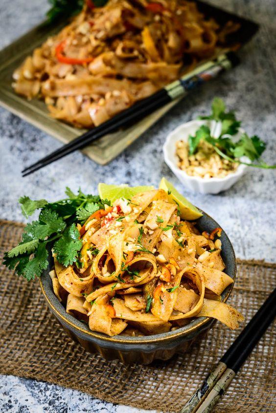 Pad thaï végétarien - On fond pour le pad thaï - Elle à Table