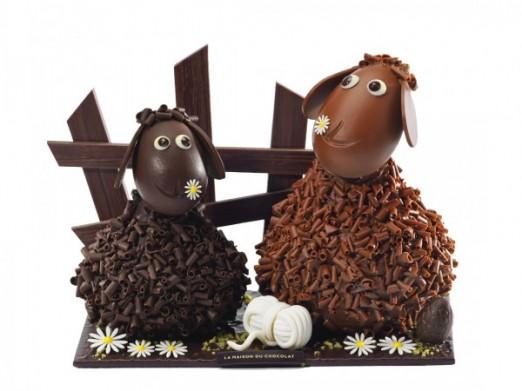 Frisoton et Frisette de la Maison du Chocolat