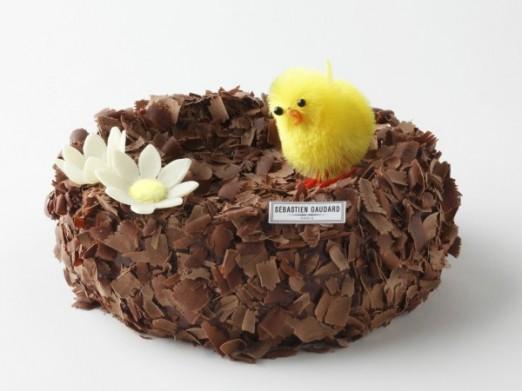 Le nid chocolat de Sebastien Gaudard