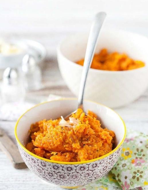 Purée de patate douce aux épices - La purée de patate