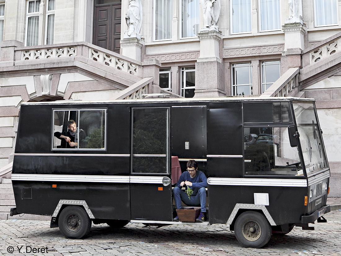 El camion à Bruxelles - Roule ma food ! - Elle à Table