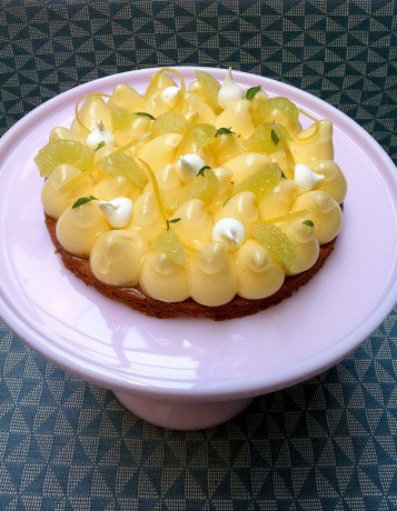 tarte au citron sur p 226 te de sabl 233 breton avant premi 232 re les p 226 tisseries de jean fran 231 ois