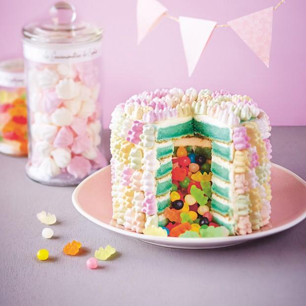 Comment faire un pi ata cake d couvrez comment faire un g teau surprise en un tour de main - Comment faire des gateaux ...