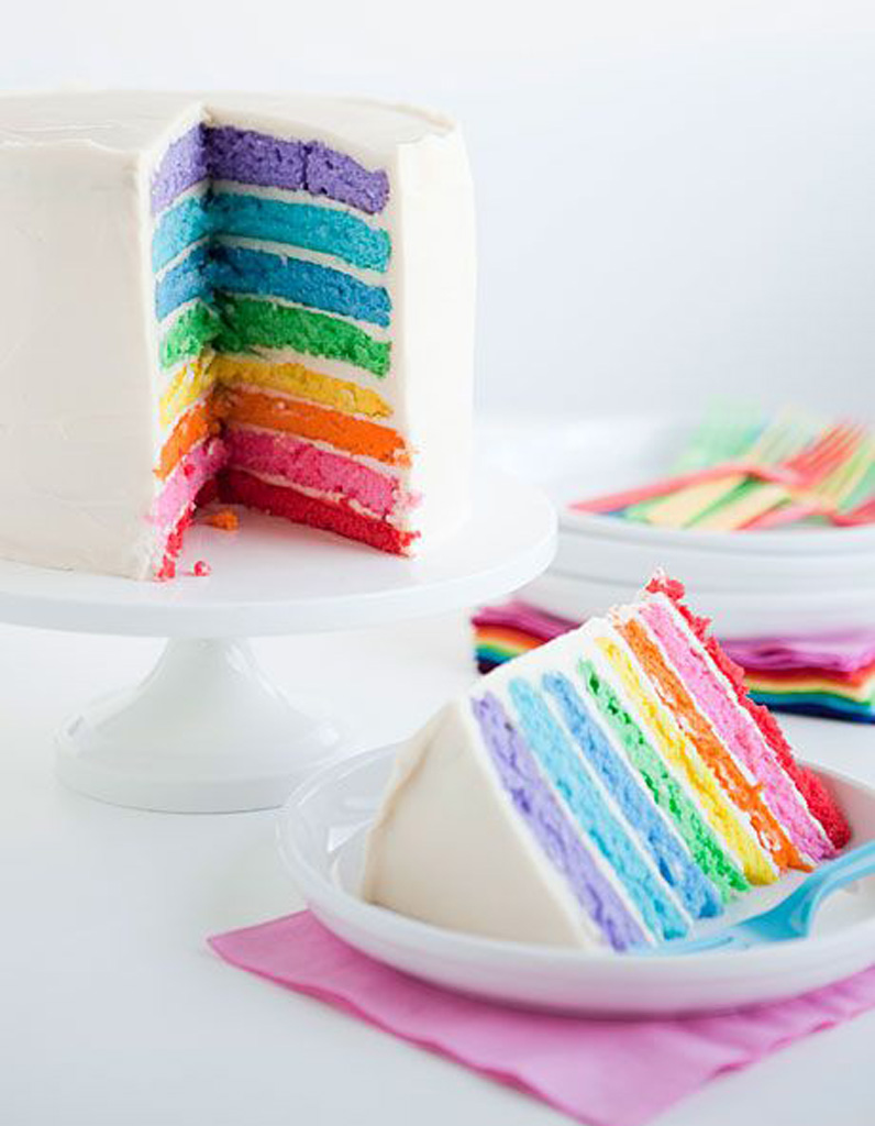 Comment Faire Un Rainbow Cake Mode D Emploi Rainbow Cake Le