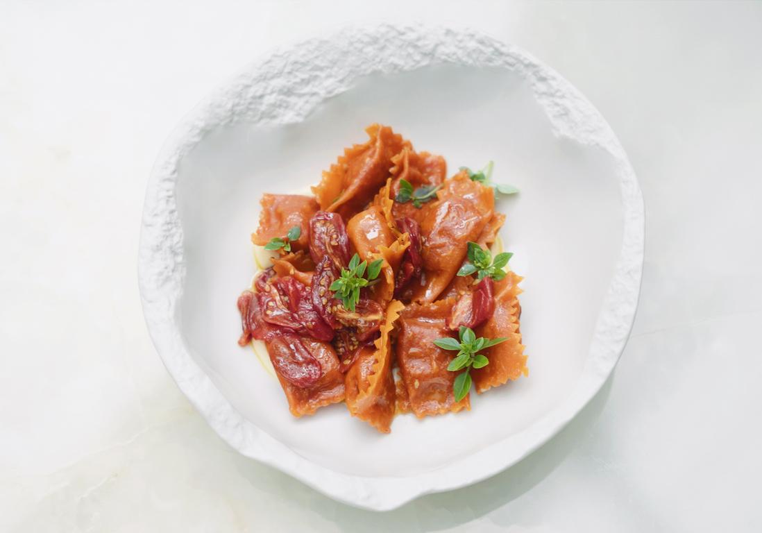 Al dente et succulents : les dumplings tomate et parmesan de Simone Zanoni