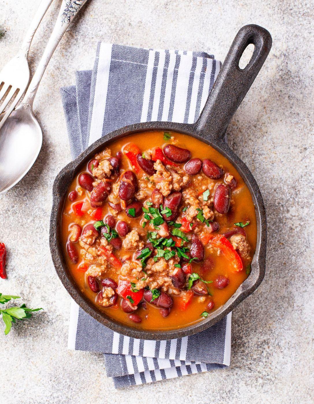 Le chili con carne maison, la recette qui met toute la famille d'accord