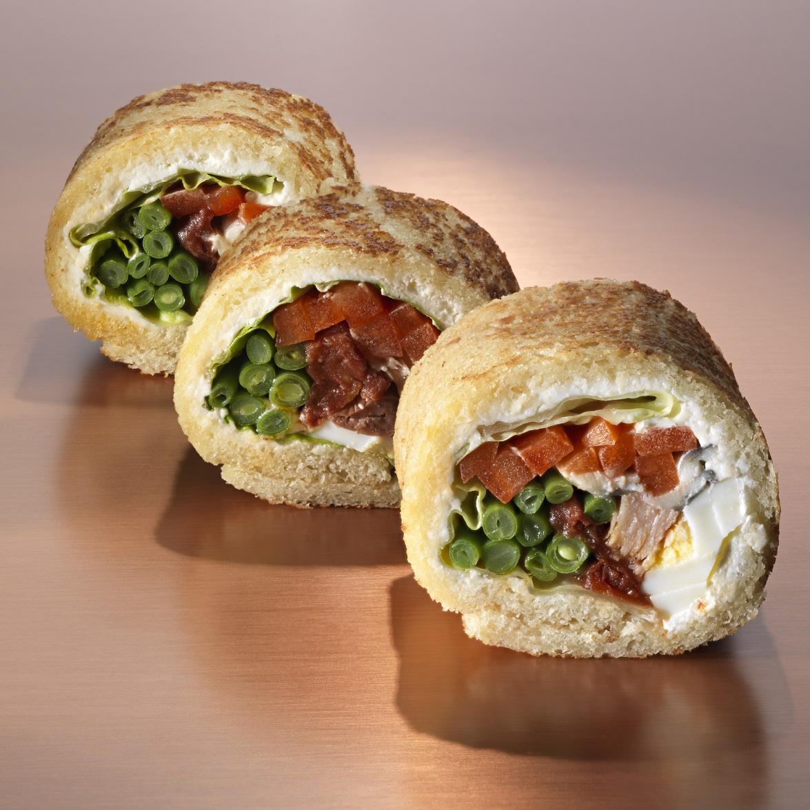 Des sandwichs gourmets pour un pique-nique de chef