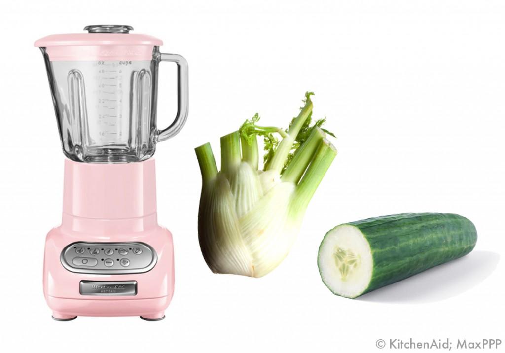 Soupe Concombre Fenouil 1 Blender 8 Recettes Elle Table