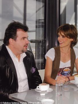 Pierre herm et julie andrieu elle table for Coupe de cheveux julie andrieu