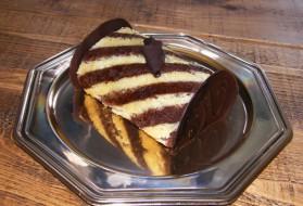 Roulé chocolat vanille