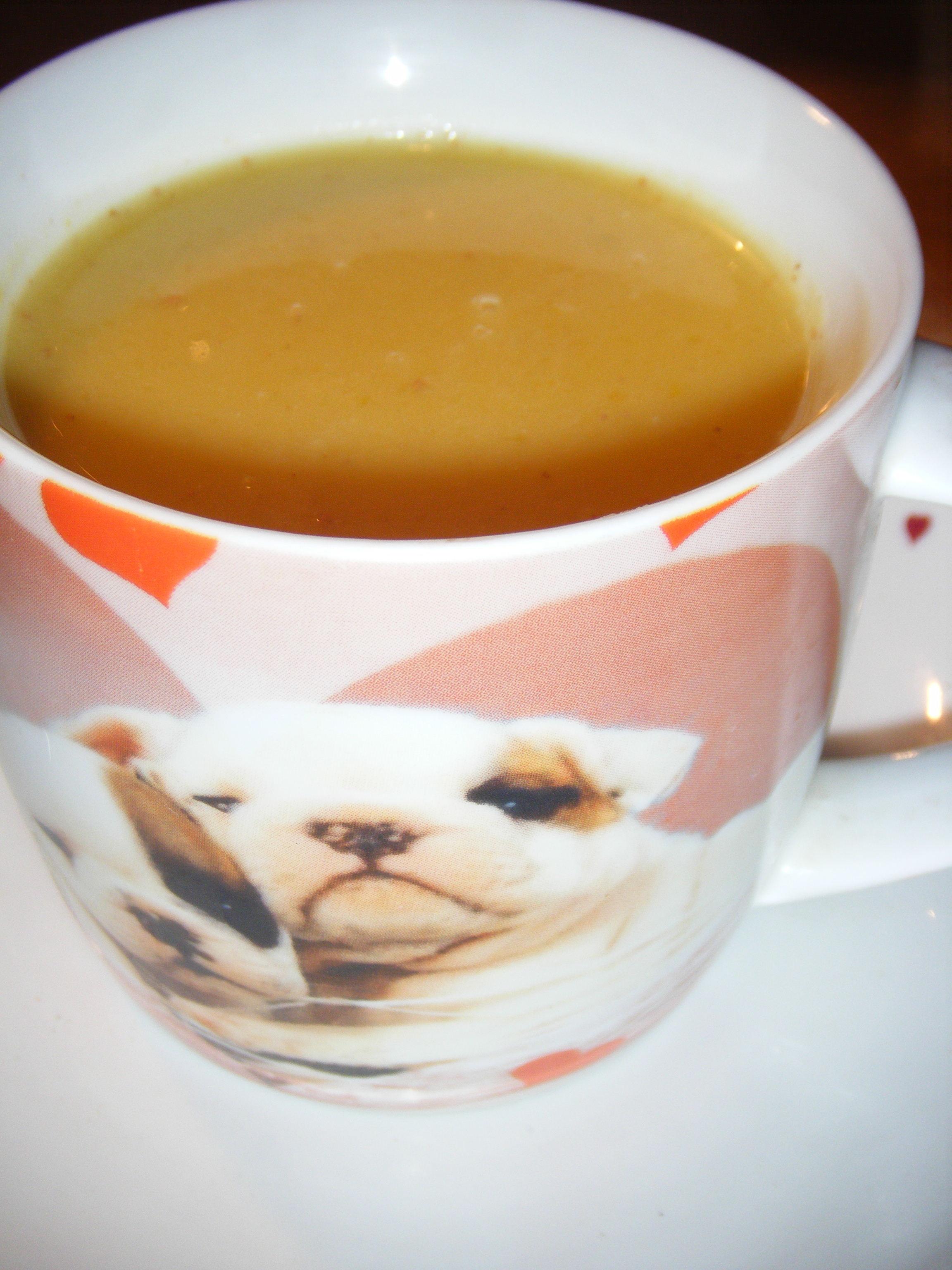 Soupe de potiron au lait de coco pour 3 personnes recettes elle table - Soupe potiron lait de coco curry ...